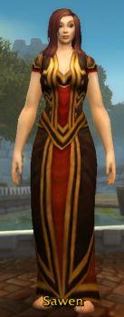 Cindercloth Robe