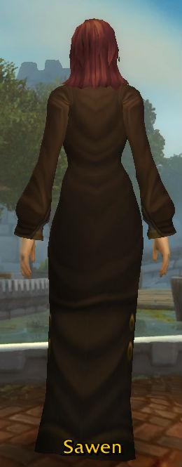 Gilnean Neophyte's Robe back