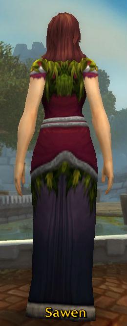 Solstice Robe back