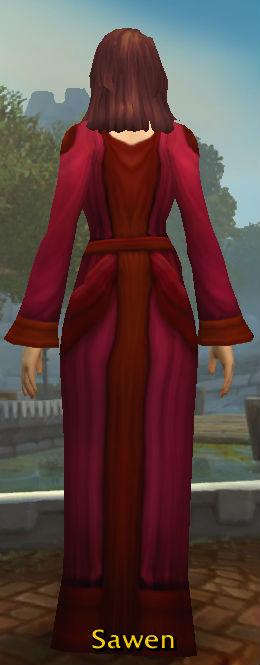 Acolyte's Robe back