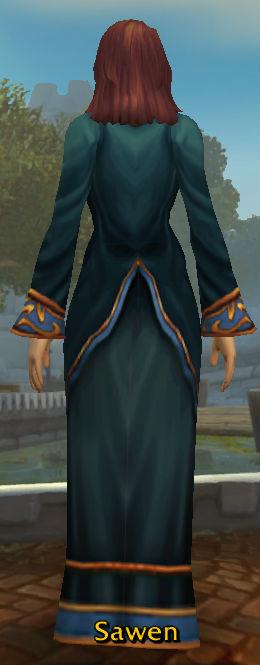 Anacondra's Robe back