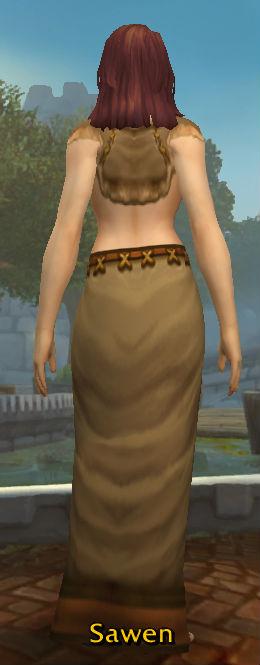 Ancestral Robe back