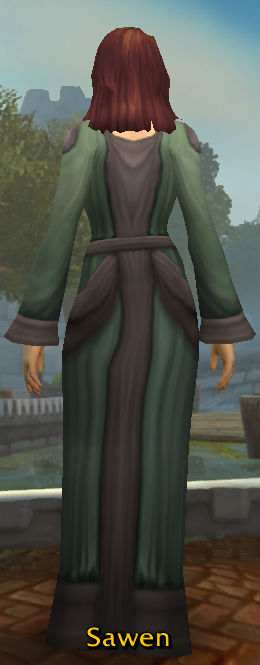 Apprentice's Robe back