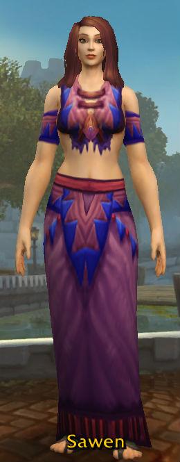 Barbaric Cloth Robe