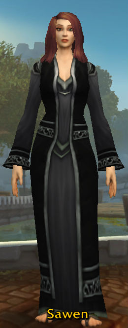 Black Velvet Robes
