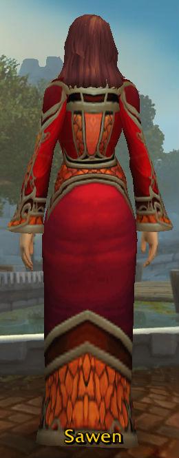 Bloodfyre Robes of Annihilation back