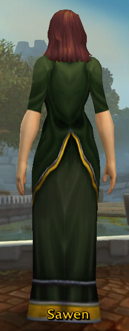 Conjurer's Robe back