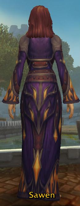 Ermine Coronation Robes back