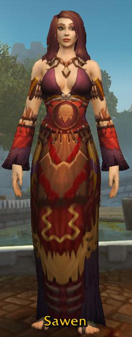 Faded Spirit-Wrencher Robe