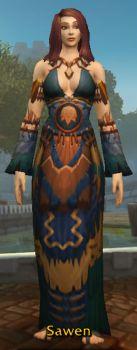 Forlorn Loa-Binder Robe