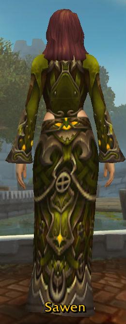 Gown of Spiritual Wonder back