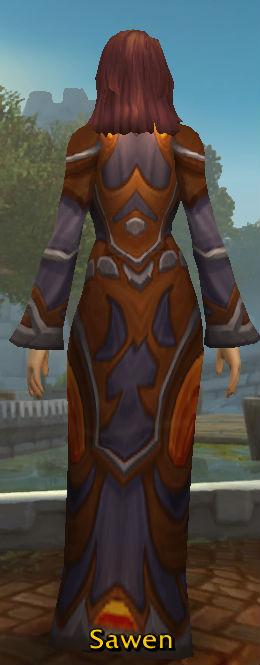 Incanter's Robe back