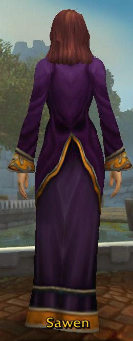 Lesser Wizard's Robe back