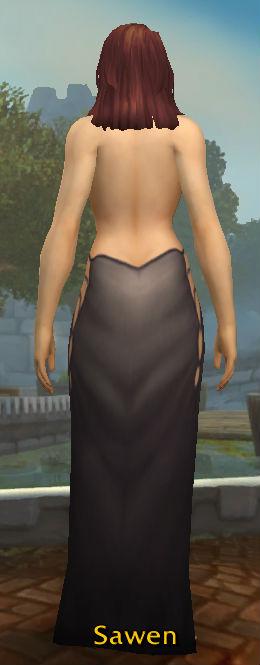 Lovely Black Dress back