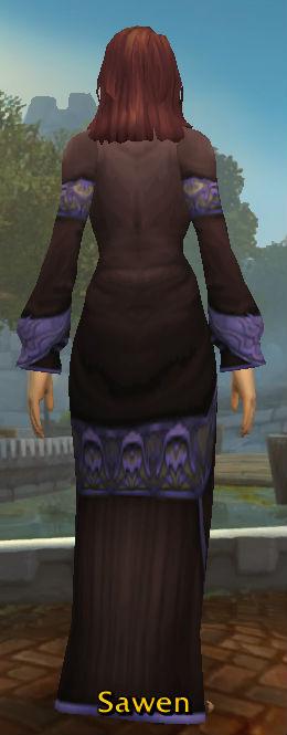 Netherweave Robe back