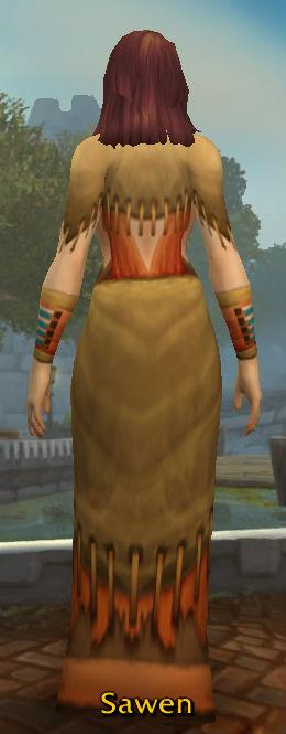 Pilgrim's Robe back