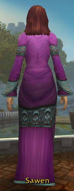 Robe of the Magi back