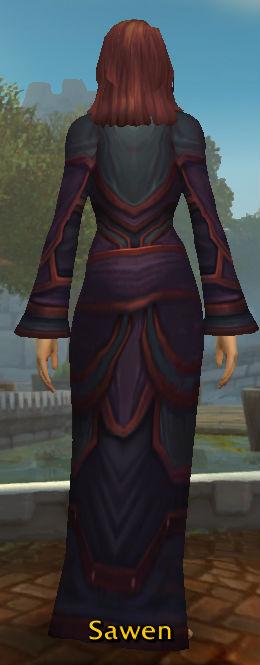 Robes of Arugal Heroic back