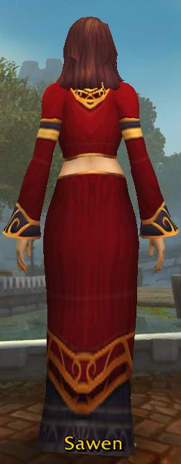 Scarlet Sin'dorei Robes back
