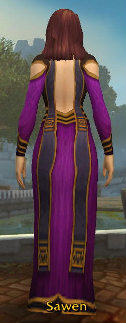 Shadoweave Robe back