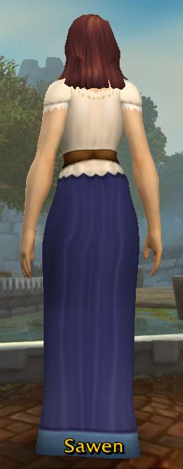 Simple Dress back