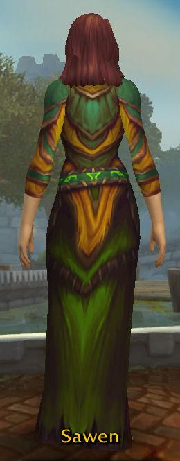 Spelltwister's Grand Robe back