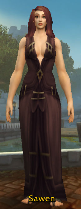 Thistlefur Robe