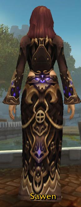 Tormented Demonsoul Robes back