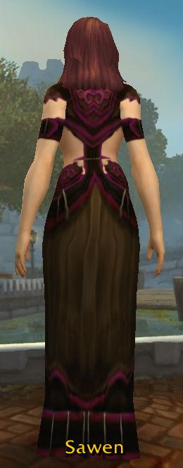 Twilight Cultist Robe back
