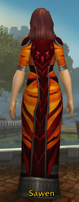 Vermillion Robes of the Dominant back