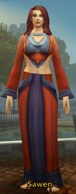 Double-Stitched Robes