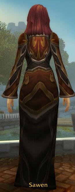 Aerie Robe back