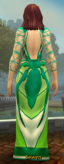 Arachnidian Robes back