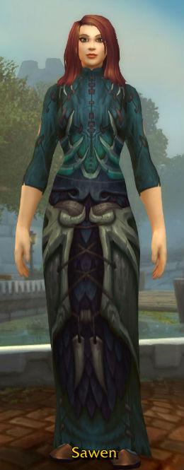 Natli's Fireheart Robe