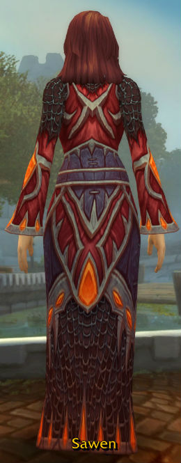 Robes of Smoldering Devastation back