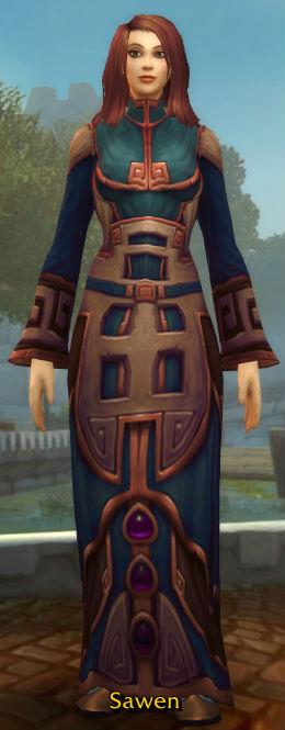 Silkmasters' Satin Robe