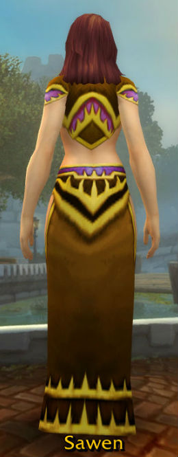 Highborne Robes back