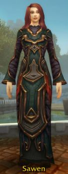 Amber-Starched Robes