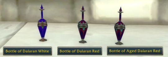 Dalaran bottles