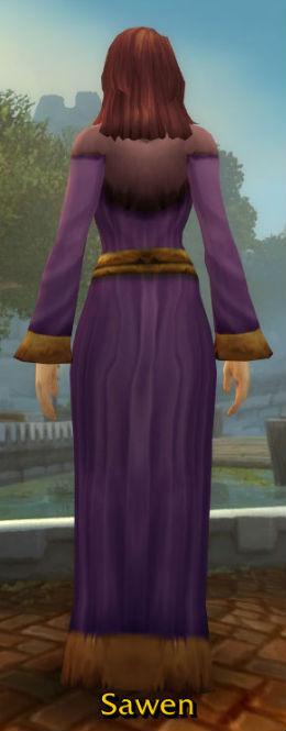 Darkmoon Robe back