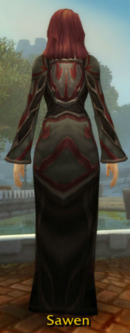 Frostsavage Robe back
