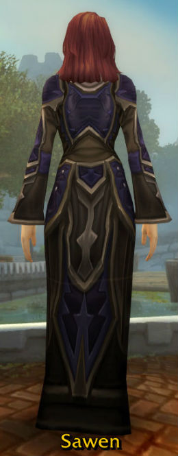 Frostwoven Robe back