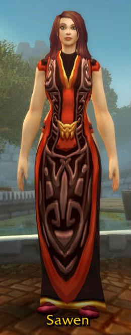 Sanguine Robe