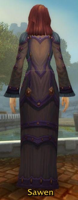 Vicious Fireweave Robe back